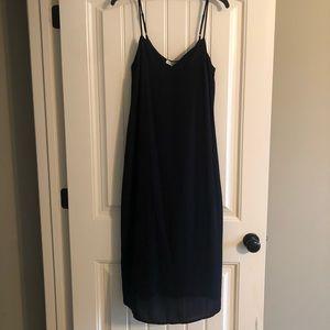 NWT Women's Black Slip Dress